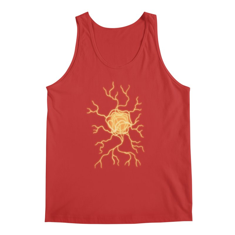 Lightning Heart Men's Regular Tank by Natou's Artist Shop