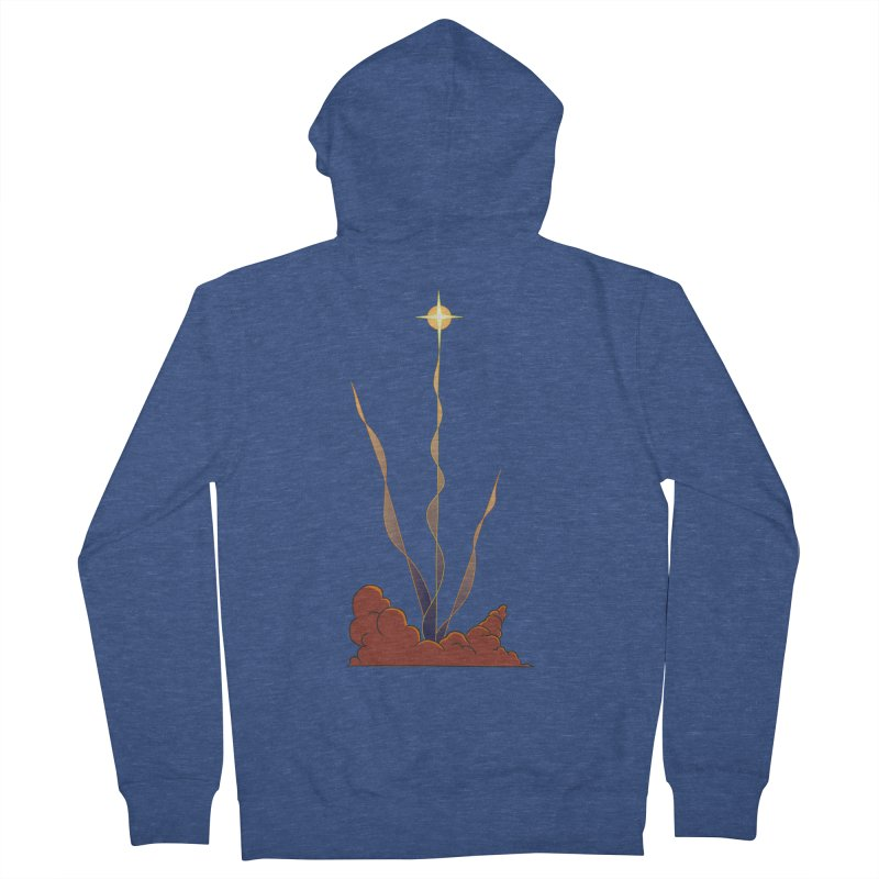 Star Blast Women's French Terry Zip-Up Hoody by Natou's Artist Shop