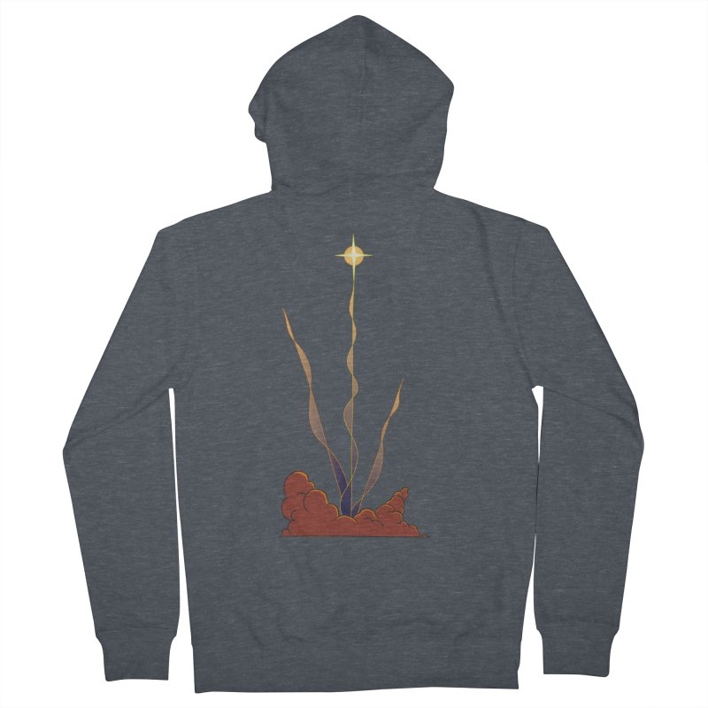 Star Blast Men's French Terry Zip-Up Hoody by Natou's Artist Shop