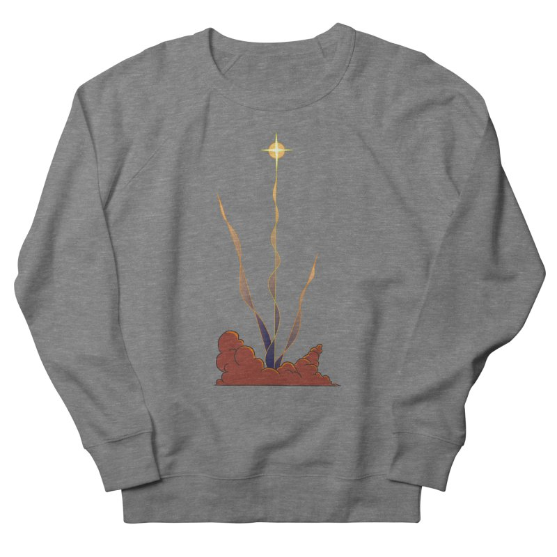 Star Blast Men's French Terry Sweatshirt by Natou's Artist Shop