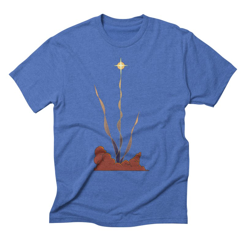 Star Blast Men's Triblend T-Shirt by Natou's Artist Shop