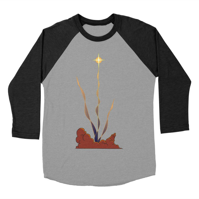 Star Blast Women's Baseball Triblend Longsleeve T-Shirt by Natou's Artist Shop