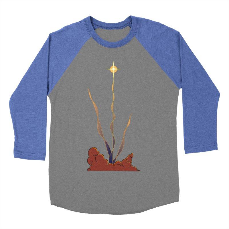 Star Blast Men's Baseball Triblend T-Shirt by Natou's Artist Shop