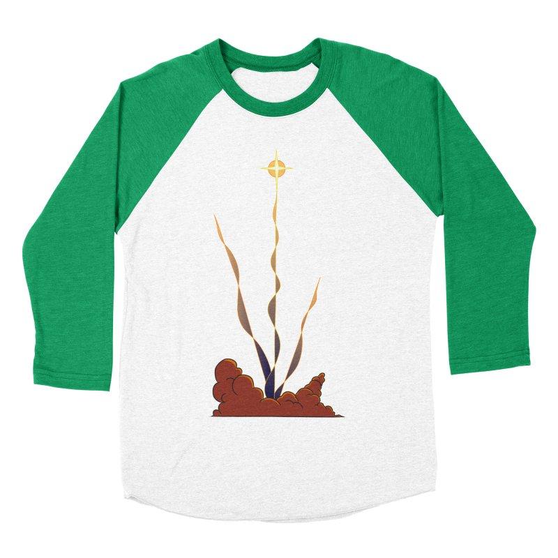 Star Blast Men's Baseball Triblend Longsleeve T-Shirt by Natou's Artist Shop