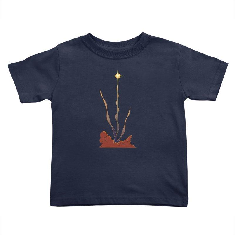 Star Blast Kids Toddler T-Shirt by Natou's Artist Shop