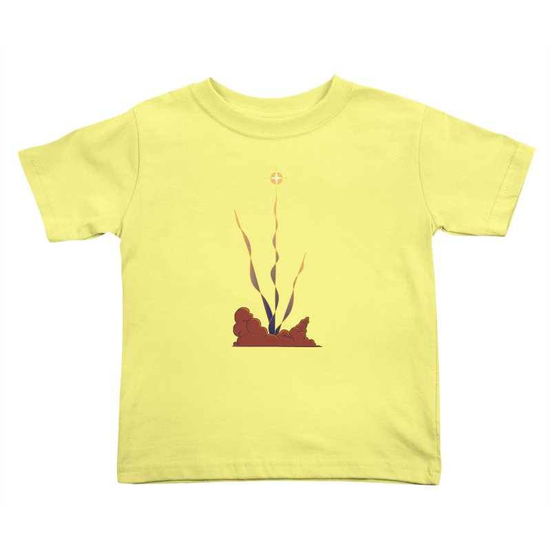 Star Blast Kids Toddler T-Shirt by Natou's Artist Shop