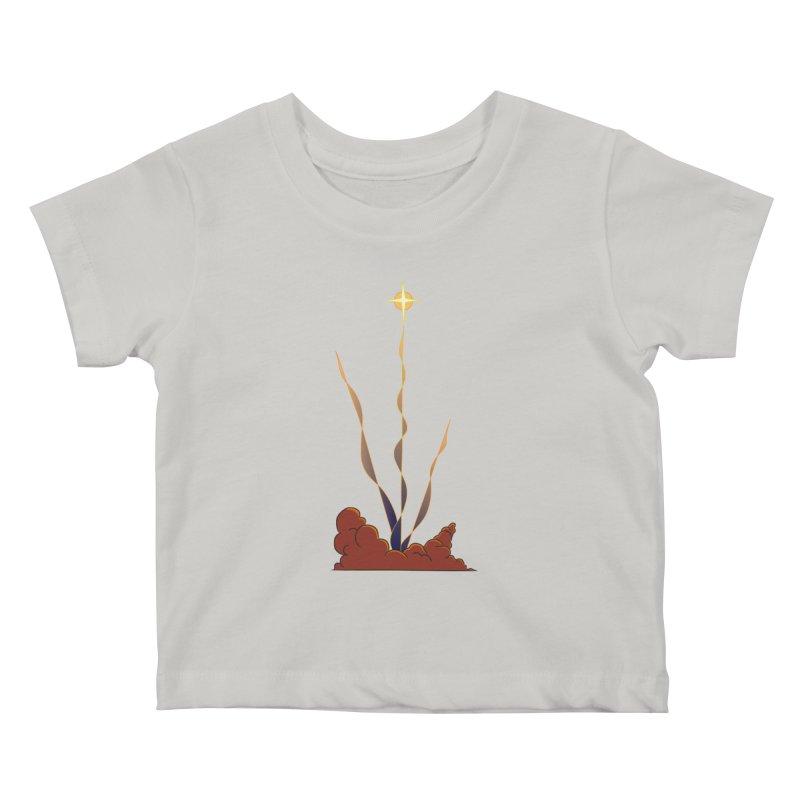 Star Blast Kids Baby T-Shirt by Natou's Artist Shop