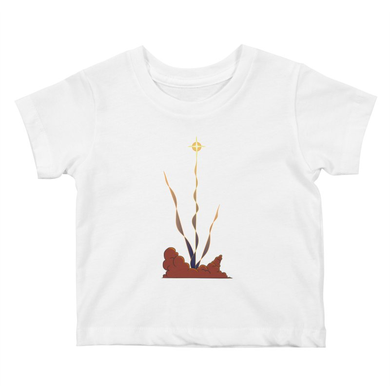 Star Blast Kids Baby T-Shirt by Natou's Artist Shop