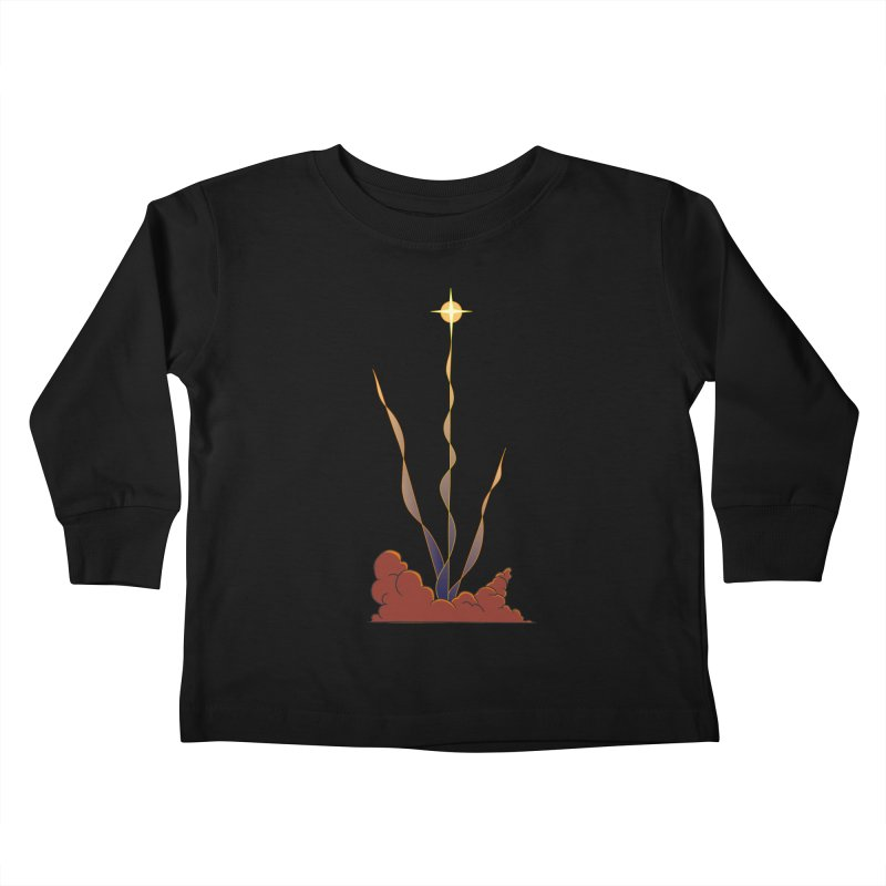 Star Blast Kids Toddler Longsleeve T-Shirt by Natou's Artist Shop