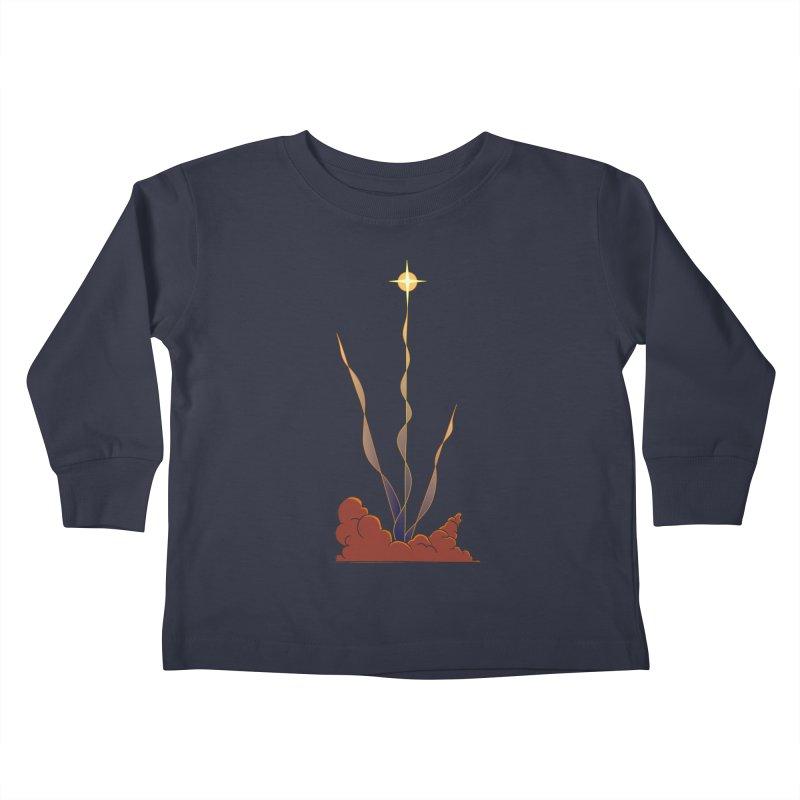 Star Blast Kids Toddler Longsleeve T-Shirt by Natou's Artist Shop
