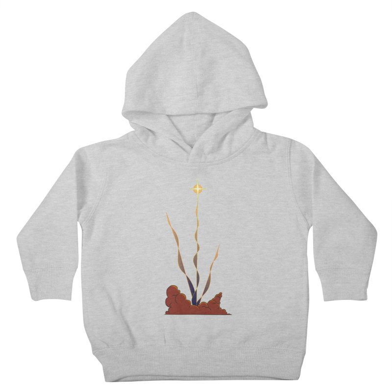 Star Blast Kids Toddler Pullover Hoody by Natou's Artist Shop