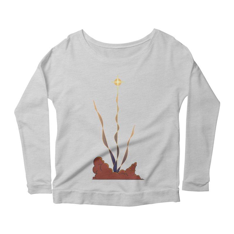 Star Blast Women's Scoop Neck Longsleeve T-Shirt by Natou's Artist Shop