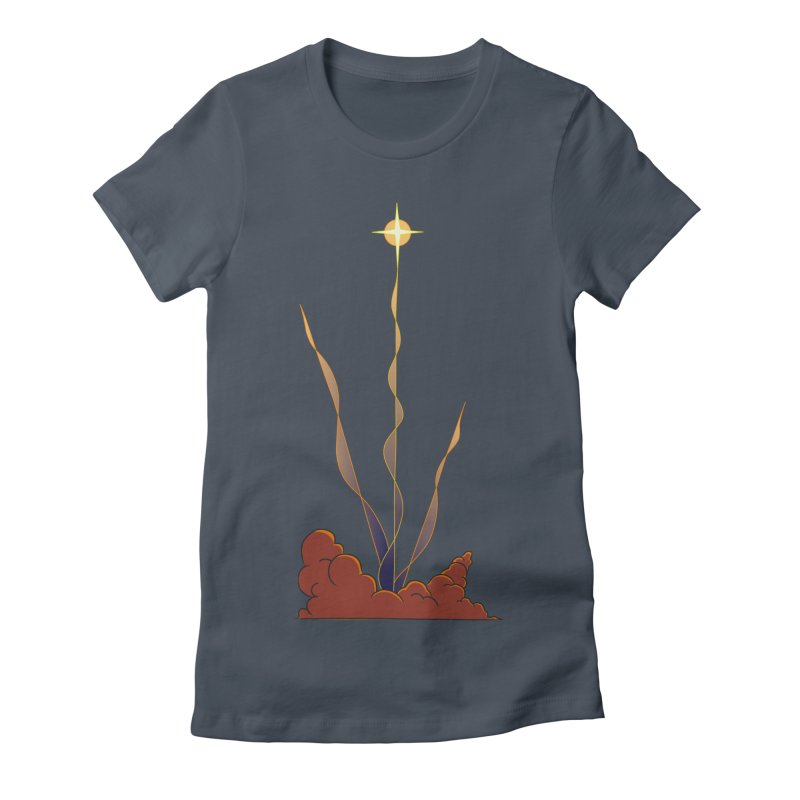 Star Blast Women's T-Shirt by Natou's Artist Shop