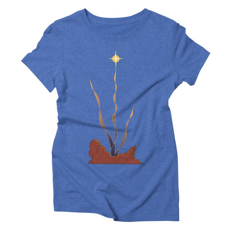 Star Blast Women's Triblend T-shirt by Natou's Artist Shop