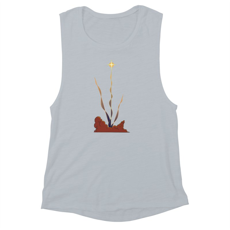 Star Blast Women's Muscle Tank by Natou's Artist Shop