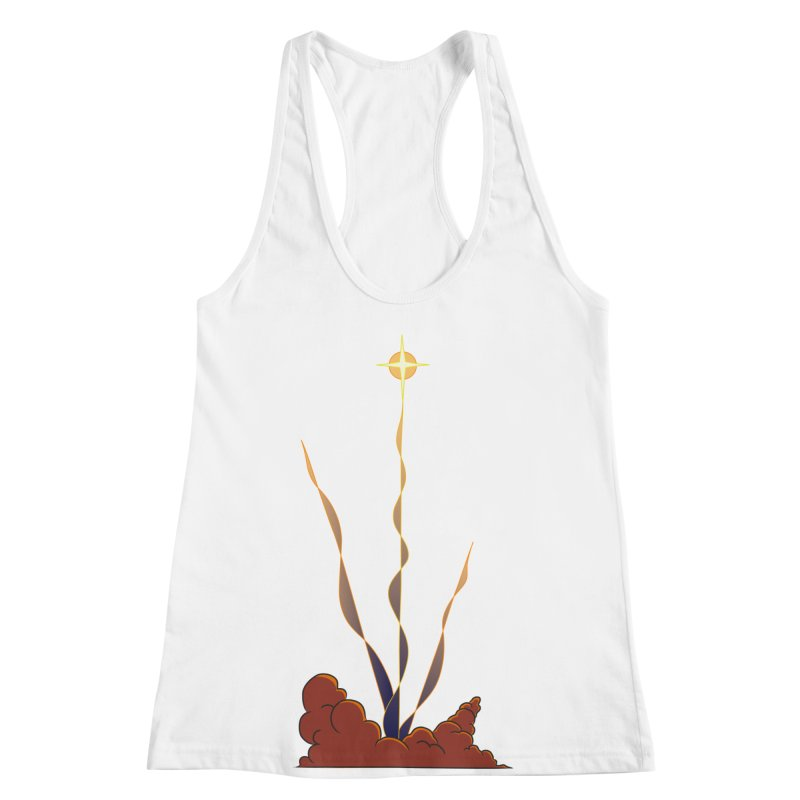 Star Blast Women's Racerback Tank by Natou's Artist Shop