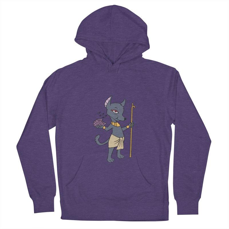 Lil' Anubis Women's Pullover Hoody by Natou's Artist Shop