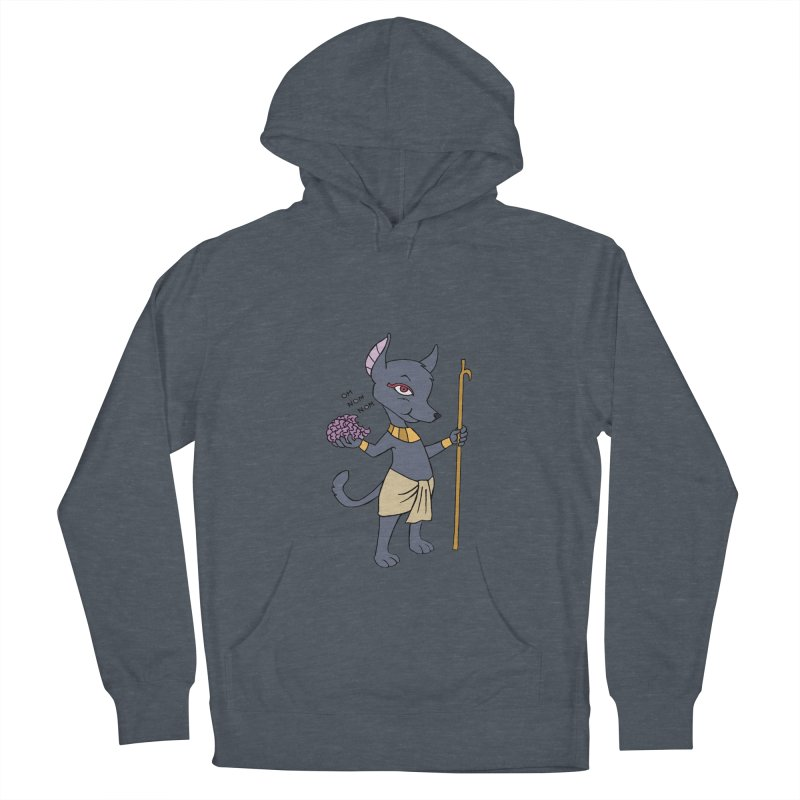 Lil' Anubis Men's French Terry Pullover Hoody by Natou's Artist Shop
