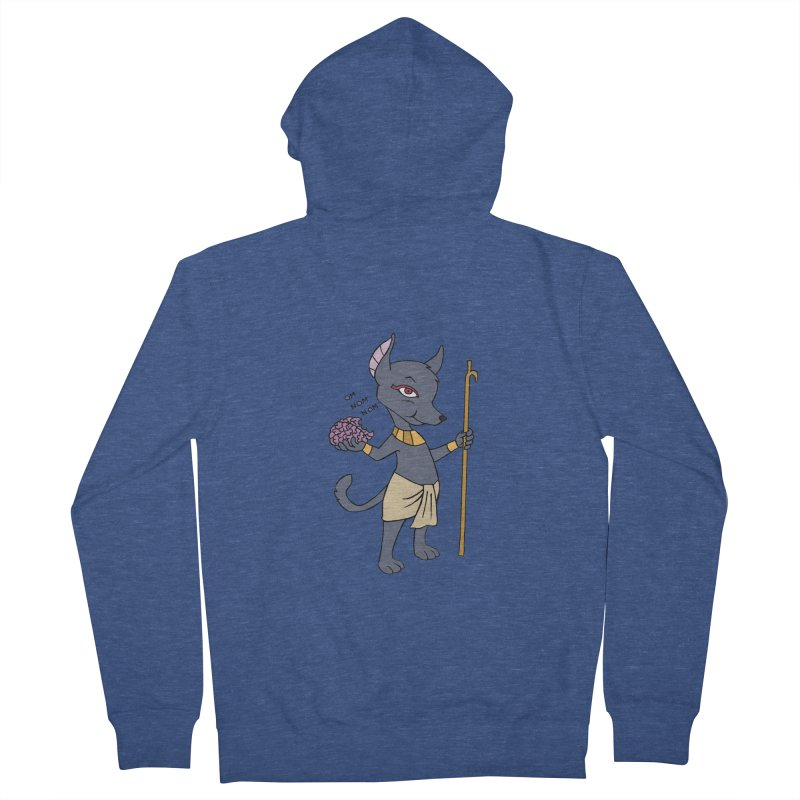 Lil' Anubis Women's French Terry Zip-Up Hoody by Natou's Artist Shop