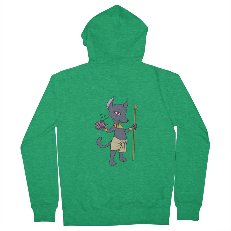 Lil' Anubis Men's Zip-Up Hoody by Natou's Artist Shop
