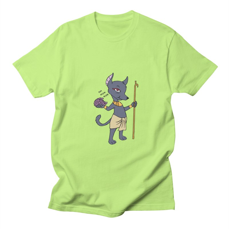 Lil' Anubis Men's Regular T-Shirt by Natou's Artist Shop