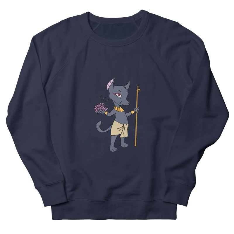 Lil' Anubis Men's French Terry Sweatshirt by Natou's Artist Shop