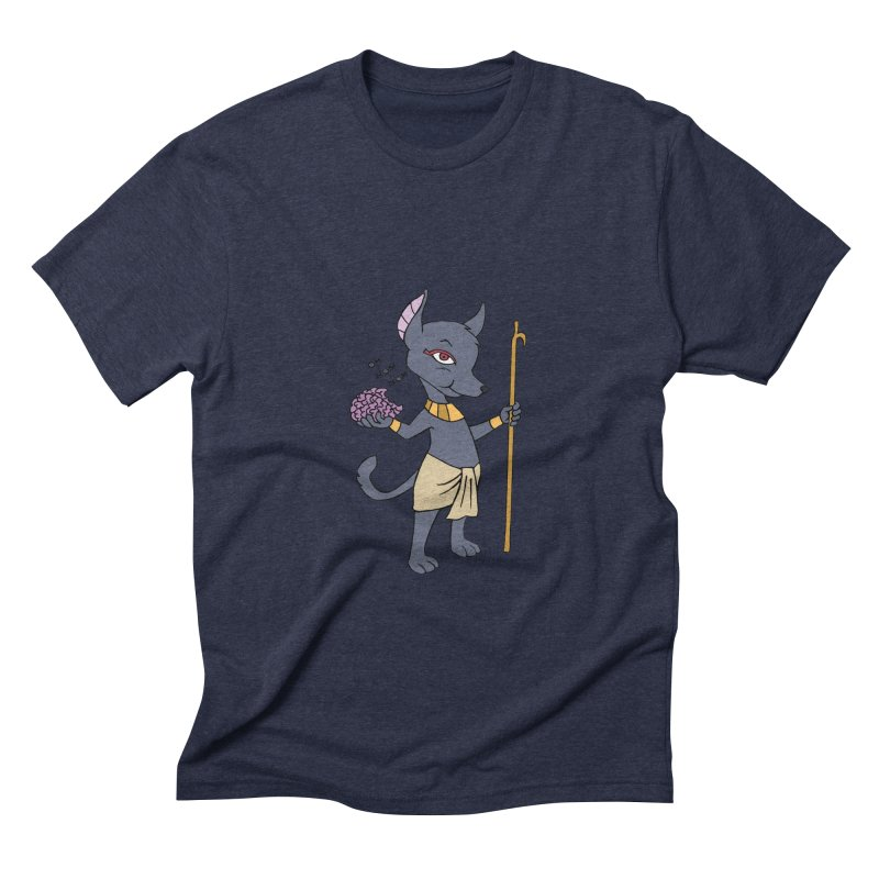 Lil' Anubis Men's Triblend T-Shirt by Natou's Artist Shop