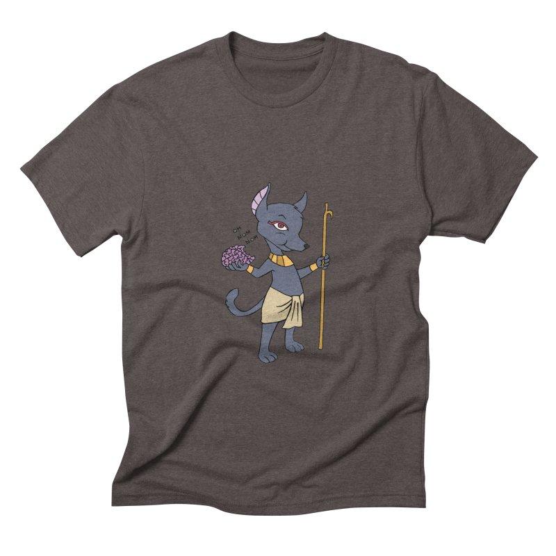 Lil' Anubis Men's Triblend T-shirt by Natou's Artist Shop