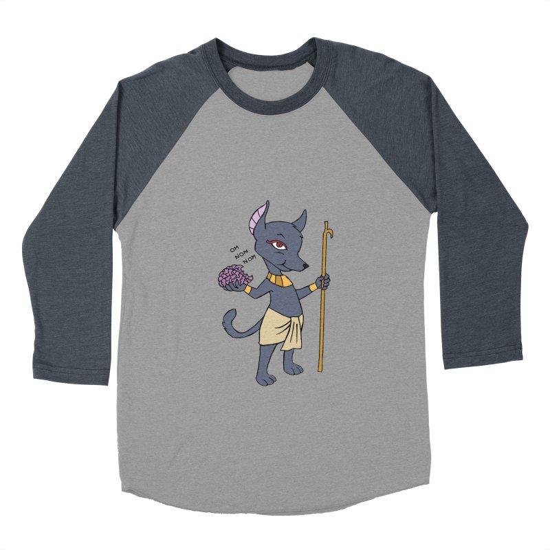 Lil' Anubis Women's Baseball Triblend Longsleeve T-Shirt by Natou's Artist Shop