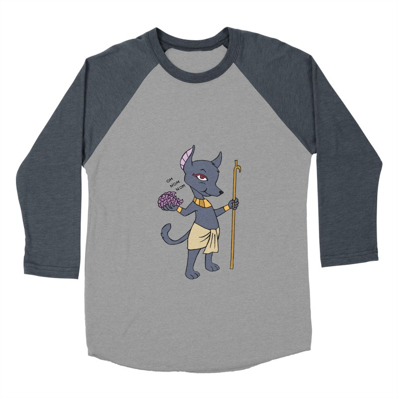 Lil' Anubis Men's Baseball Triblend T-Shirt by Natou's Artist Shop