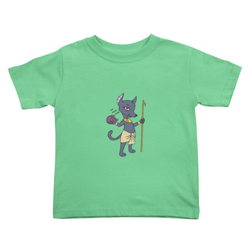 Lil' Anubis Kids Toddler T-Shirt by Natou's Artist Shop
