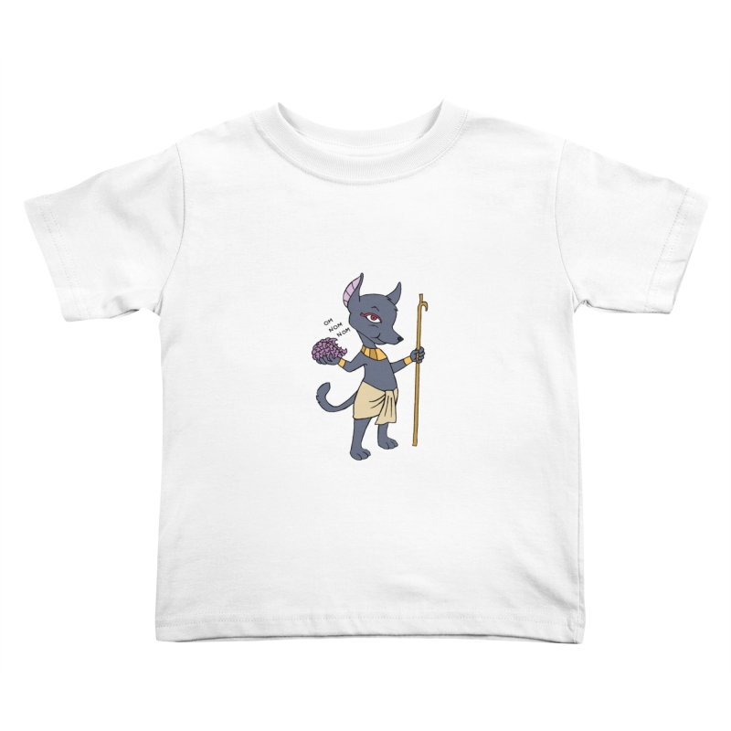 Lil' Anubis Kids Toddler T-Shirt by Natou's Artist Shop