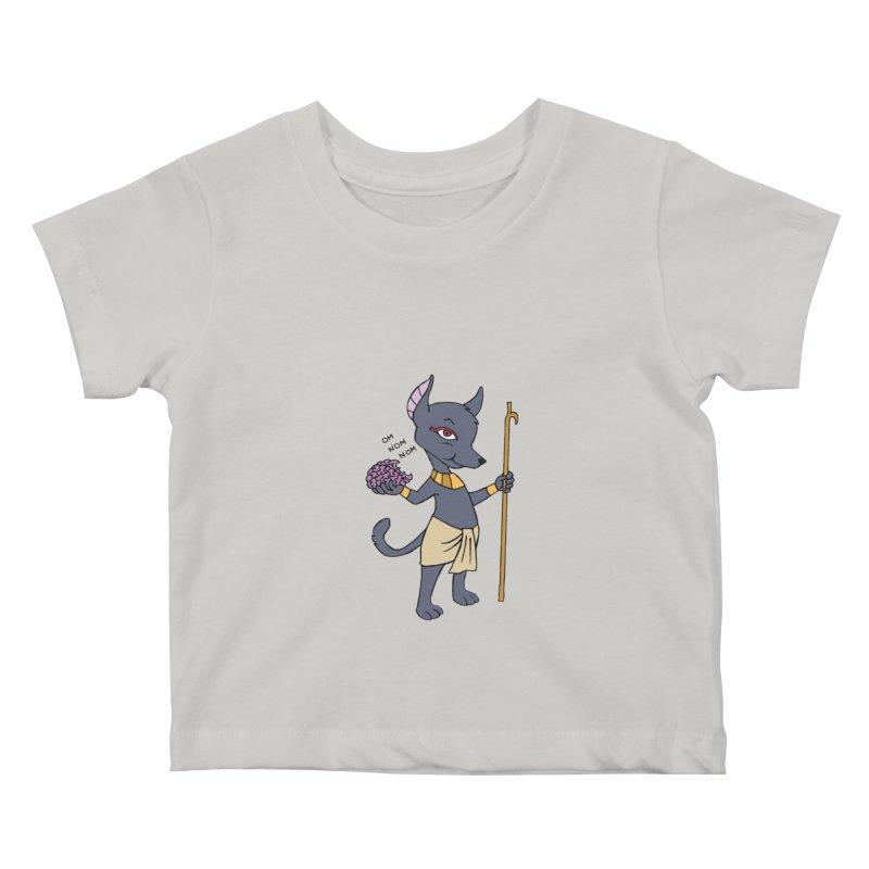 Lil' Anubis Kids Baby T-Shirt by Natou's Artist Shop