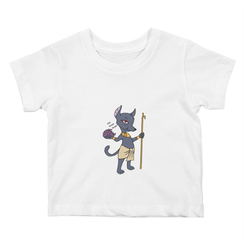 Lil' Anubis Kids Baby T-Shirt by Natou's Artist Shop