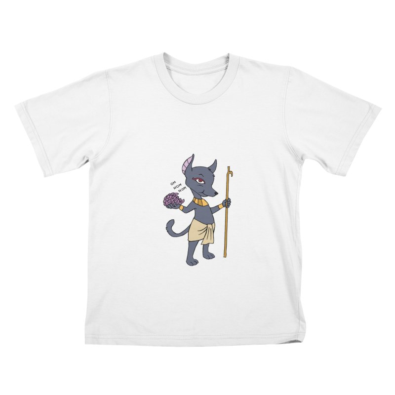 Lil' Anubis Kids T-Shirt by Natou's Artist Shop