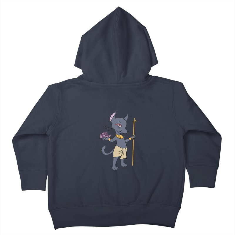 Lil' Anubis Kids Toddler Zip-Up Hoody by Natou's Artist Shop