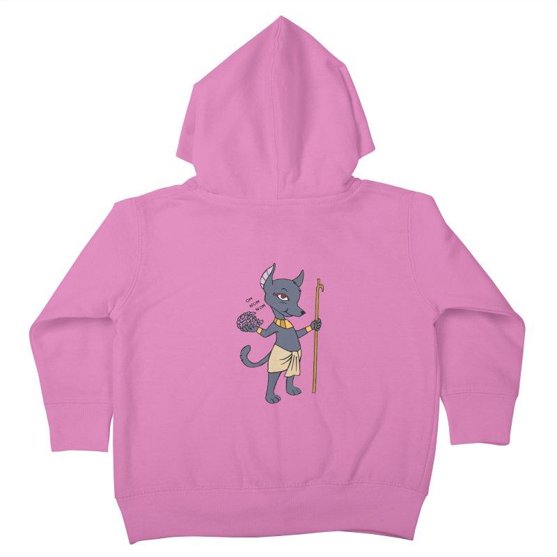 Lil' Anubis Kids Toddler Zip-Up Hoody by Natou's Artist Shop