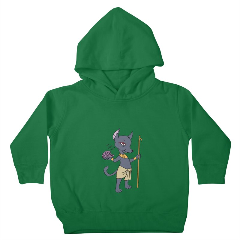 Lil' Anubis Kids Toddler Pullover Hoody by Natou's Artist Shop