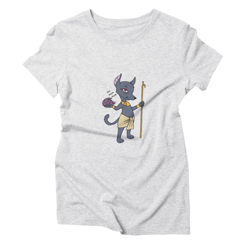 Lil' Anubis Women's Triblend T-Shirt by Natou's Artist Shop