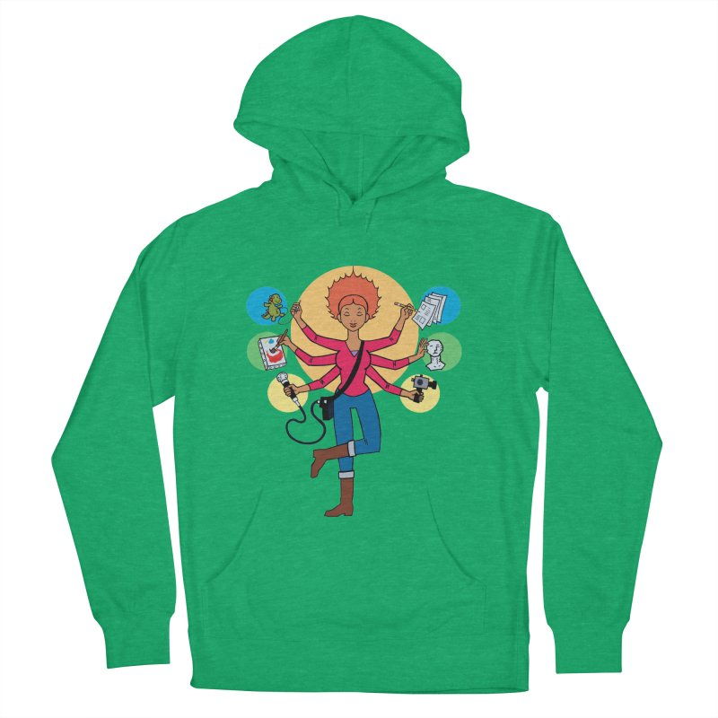 Museful Women's French Terry Pullover Hoody by Natou's Artist Shop