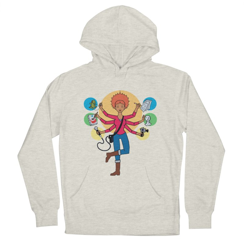 Museful Men's French Terry Pullover Hoody by Natou's Artist Shop