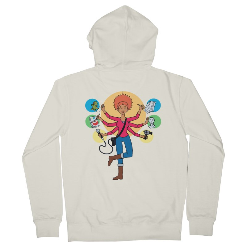 Museful Men's Zip-Up Hoody by Natou's Artist Shop