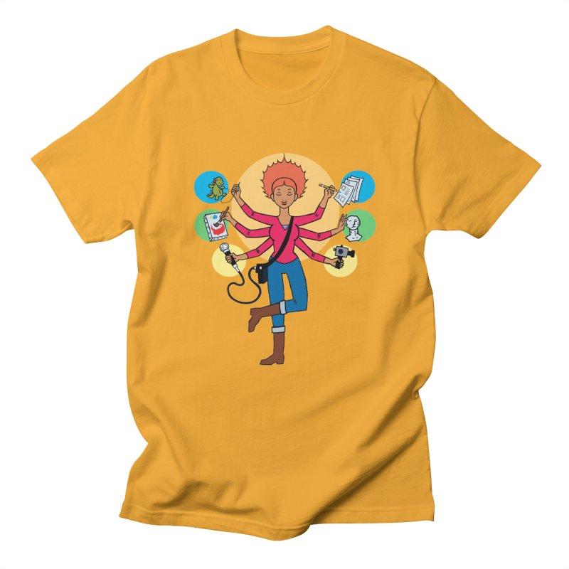 Museful Men's Regular T-Shirt by Natou's Artist Shop