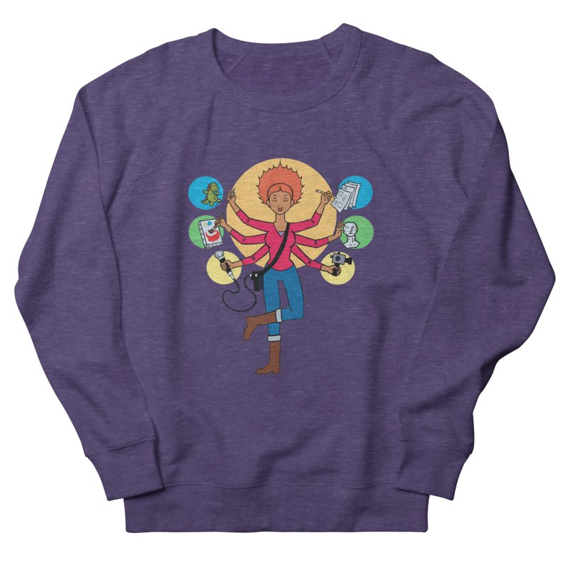 Museful Women's French Terry Sweatshirt by Natou's Artist Shop