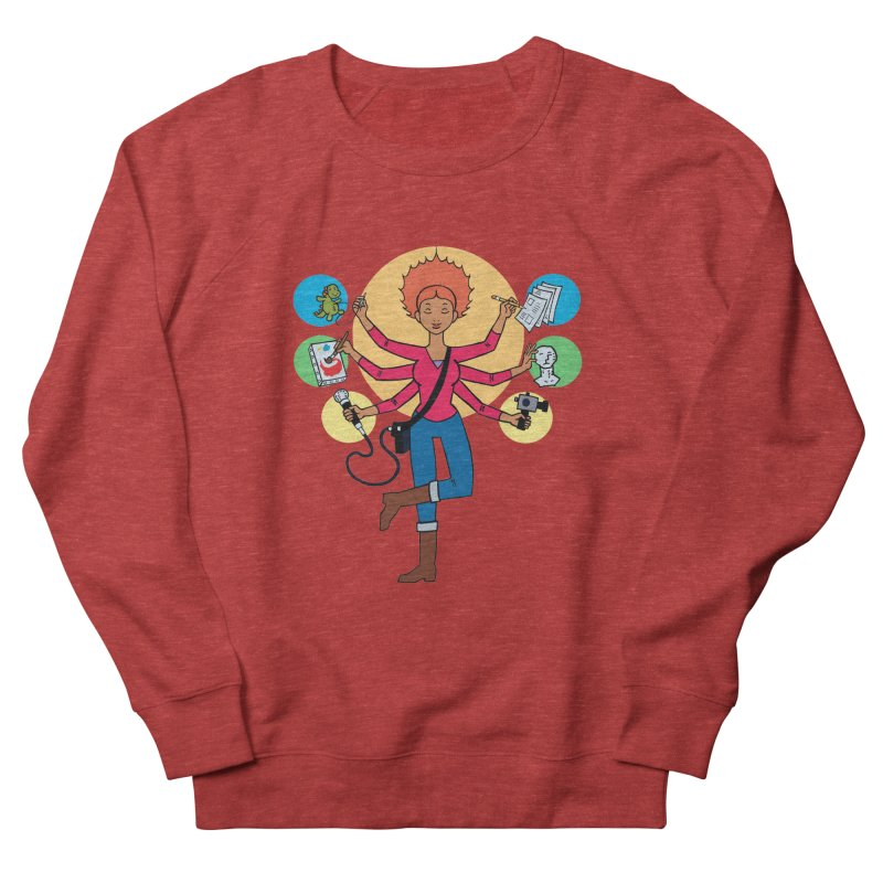 Museful Men's French Terry Sweatshirt by Natou's Artist Shop