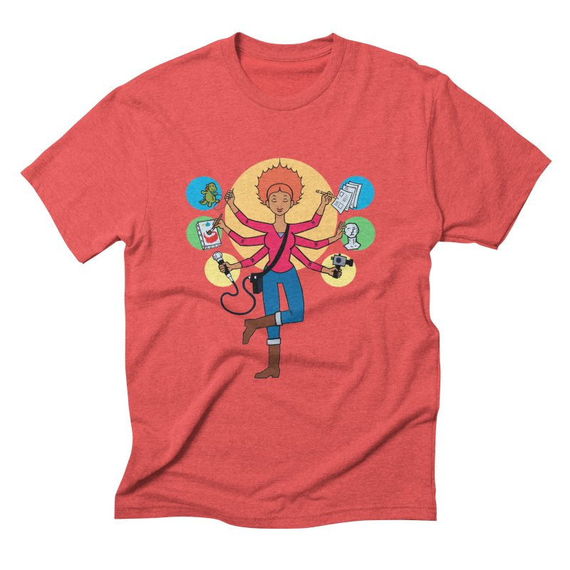 Museful Men's Triblend T-Shirt by Natou's Artist Shop