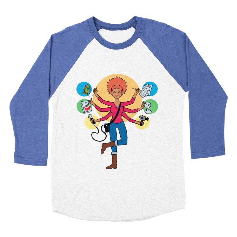 Museful Women's Baseball Triblend T-Shirt by Natou's Artist Shop