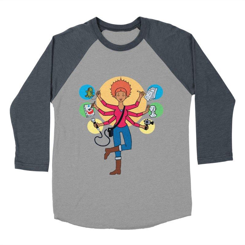 Museful Women's Baseball Triblend Longsleeve T-Shirt by Natou's Artist Shop