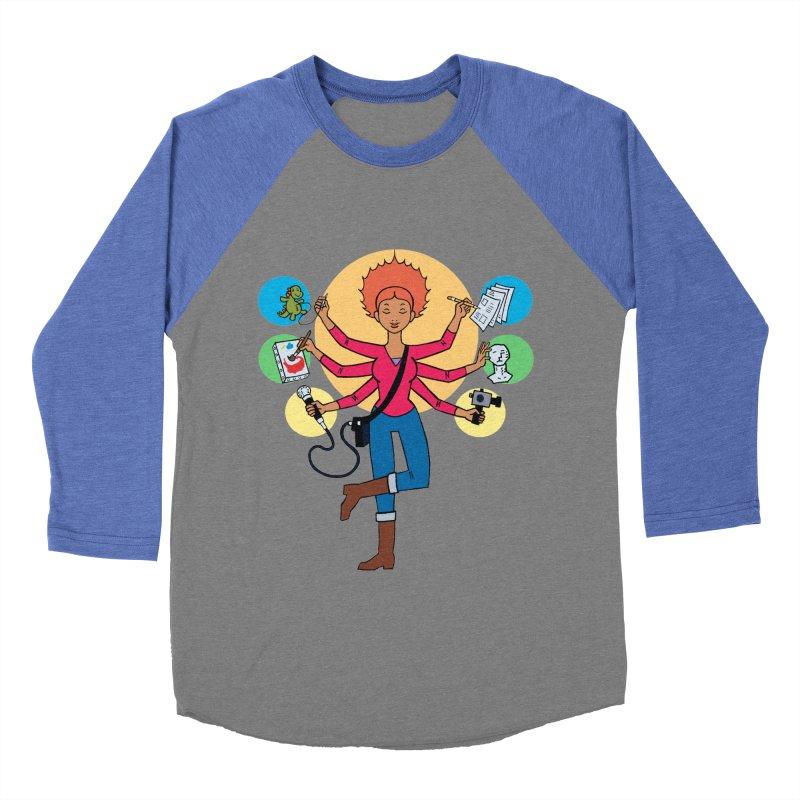 Museful Men's Baseball Triblend T-Shirt by Natou's Artist Shop
