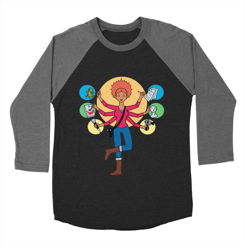 Museful Men's Baseball Triblend Longsleeve T-Shirt by Natou's Artist Shop